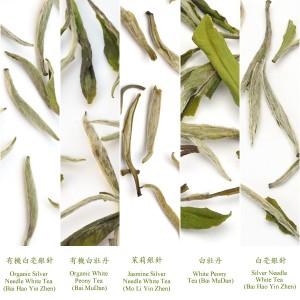 tipuri de ceai alb