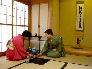 ceremonia ceaiului japonez