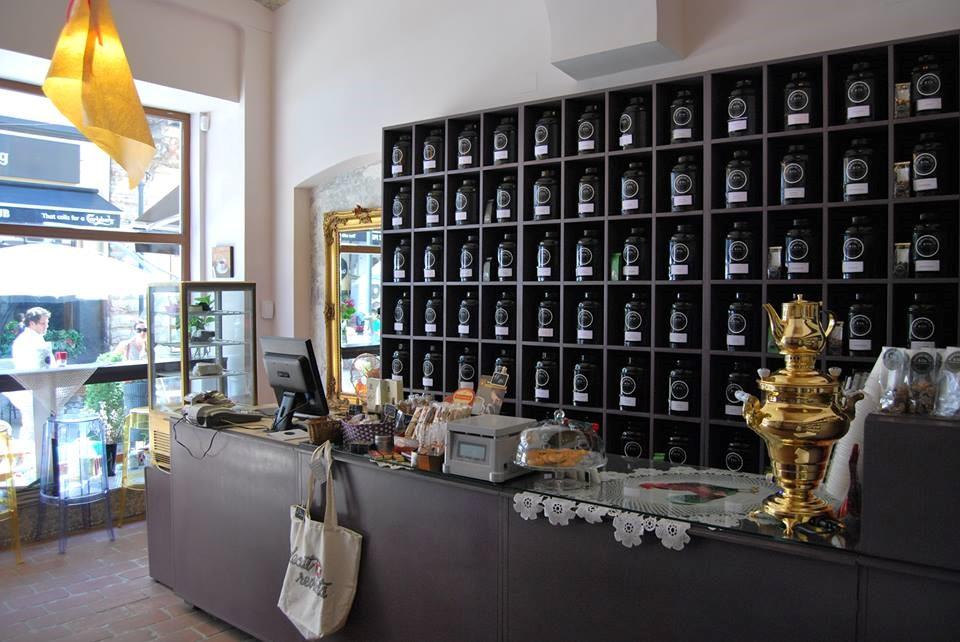 Bernschutz tea shop